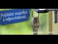 Pojištění domácnosti, rodinného domu nebo bytu - výhodná speciální nabídka