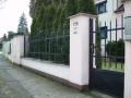 Výroba ocelové brány Kolín, domovní vrata
