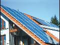 Výroba elektrické energie ze slunečního světla Praha
