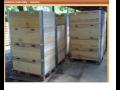 Dřevěné bedny, dřevovýroba, pelety