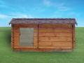 Dřevěné stavby, dřevostavby,  okr. Příbram.
