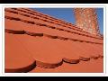 Betonová střešní krytina, betonová taška Brno