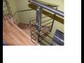 Ocelové schodiště, zábradlí Mikulov, Brno, Jižní Morava
