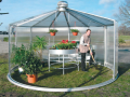 Galvanized greenhouses - a producer of garden greenhouses LIMES