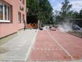 Výstavba chodníků, sportovišť, plynovodů, výkopové práce Vsetín