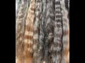 Prav� panensk� kavkazsk� vlasy, v�chodoevropsk� rusk� vlasy