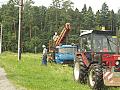 Ter�nn� �pravy, zemn� pr�ce, k�cen� strom� Orlov�, Ostrava
