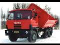 Autodoprava nákladní přeprava Tatra Liberec zemní lesnické práce