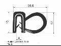 Těsnění pryž gumové profily