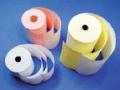 Papírové roličky pro pokladny výroba Praha -  tři různé kvality papíru