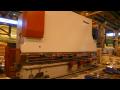 Ohraňování plechů lisem Beyeler 700 Tun 7200 mm