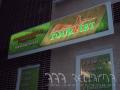 LED reklama, světelná reklama, tabule panely 3D výroba na zakázku Praha
