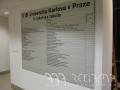 AAA REKLAMA Praha, Orientační systémy tabulové, informační přístupový systém INDOOR