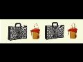 INDIEN, Taschen aus Juta, Baumwolle, Leinen