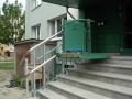 Šikmá schodišťová plošina CPM 300 pro imobilní, pro vozíčkáře