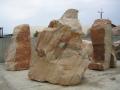 Prodej okrasné kameny, stavební recykláty, stěrk a písek Praha