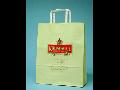 Výroba papírové tašky Praha