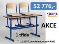 Školní nábytek - akční sety