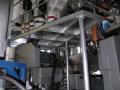 Hliníkové přístupové schůdky obslužné plošiny ke strojům