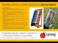 Dodavatel solárních systému, akumulační solární kolektor Kroměříž