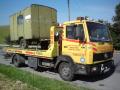 Nákladní odtahová služba, odstavení bouraného vozidla Kroměříž