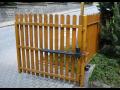 Montáž vjezdové, otočné automatické brány vrata Valašské Meziříčí