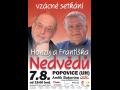 Brat�i Nedv�dov�, St��br�anka s Josefem Z�mou v Amf�ku Bukovina