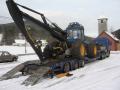 Přeprava nadrozměrných nákladů, strojů, okr. Písek.