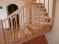 Samonosná dřevěné schodiště Praha Nymburk Hradec Pardubice