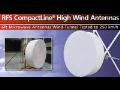 RFS 6ft mikrovlnná anténa se zvýšenou odolností proti větrným podmínkám