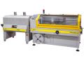 Automatické stroje pro balení do teplem smrštitelné folie  s kontinuálním svářením FP 500 HS a FP 500 HSE