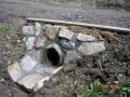 Výstavba inženýrských sítí, kanalizace, úprava břehů Vsetín