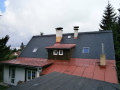 Realizace střech střechy Liberec pokrývačské tesařské klempířské práce Liberec Jablonec.