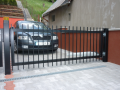 Mont� oto�n� automatick�, vjezdov� br�ny, vrata Vset�n, Nov� Ji��n, Hranice