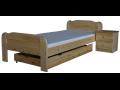 Výroba ložnice, postele na míru, letiště, dřevěné dvoulůžka, dvoupostele Zlínský kraj