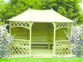 Zahradní nábytek, ploty, plotovky, houpačky, altány, truhlíky, dřevěné lavice Zlínský kraj