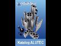 Výroba hliníkový konstrukční systém Alutec
