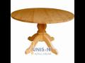 Výroba a prodej dřevěných stolů.
