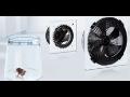 Zemědělské, tangenciální ventilátory
