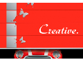 Designová garážová vrata CREATIVE