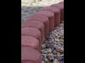 Výroba betonové palisády, prodej zahradní palisády, palisádové obrubníky