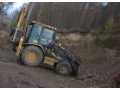 zemní práce se zemními stroji Caterpillar a Volvo Třebíč