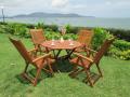 Zahradní sestava BRAZIL z exotického dřeva,nejlevnější na trhu !