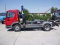 Servis kontejnerové nosiče, hydraulické nakládací jeřáby