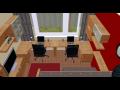3D vizualizace interiérů na PC.