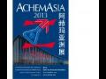 AchemAsia 2013 - 9. ročník mezinárodního veletrhu chemického inženýrství, ochrany životního prostředí a biotechnologií