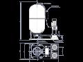 Dodávka, montáž, servis automatické tlakové stanice Uherské Hradiště