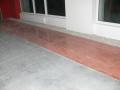 Realizace litých podlah, barvení, dekorace betonu Zlínský kraj, Valašské Meziříčí, Vsetín