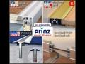 Prahové a přechodové lišty PRINZ - pro bezbariérové vstupy a plovoucí podlahy i koberce