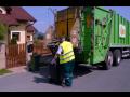 Odvoz komunálních odpadů.